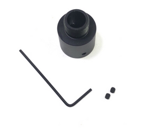 Full metal outer barrel convert adaptor 19mm convert to 14mm threaded /14mm to 19mm