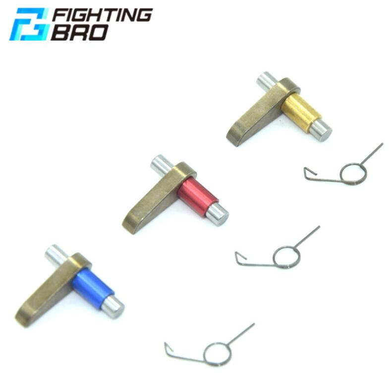 3kit Fighting Bro metal reverse latch and spring(random color)