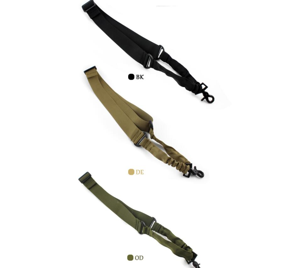 Nylon single point tactical gun sling
