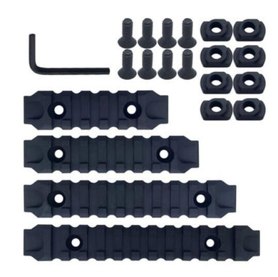 Full nylon picatinny rail set for M-LOK system handguard