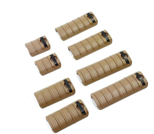 8PC full nylon fishbone handguard protective kit