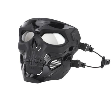 Tactical Masks Paintball gel blaster  Outdoor Shooting Skull Mask Full Face Safety Airsoft Paintball Tactical Masks