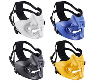 Tactical mask for half face mask for gel blaster printball
