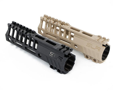 SLR TAN full nylon fishbone gel blaster handguard upgrade 6.7 inch 16cm