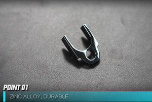 KUBLAI P1 gel blaster Slide adaptor  alloy CNC parts