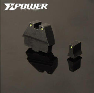 KUBLAI P1 /G17 infront and back sight kit for gel blaster upgrade