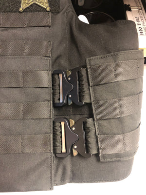 COBRA® buckle - 6 buckle system for shoulders and cummerbunds