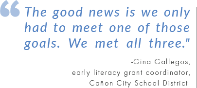 Early Literacy Program Sees Success with Seeing Stars and Visualizing and Verbalizing (V/V) Programs