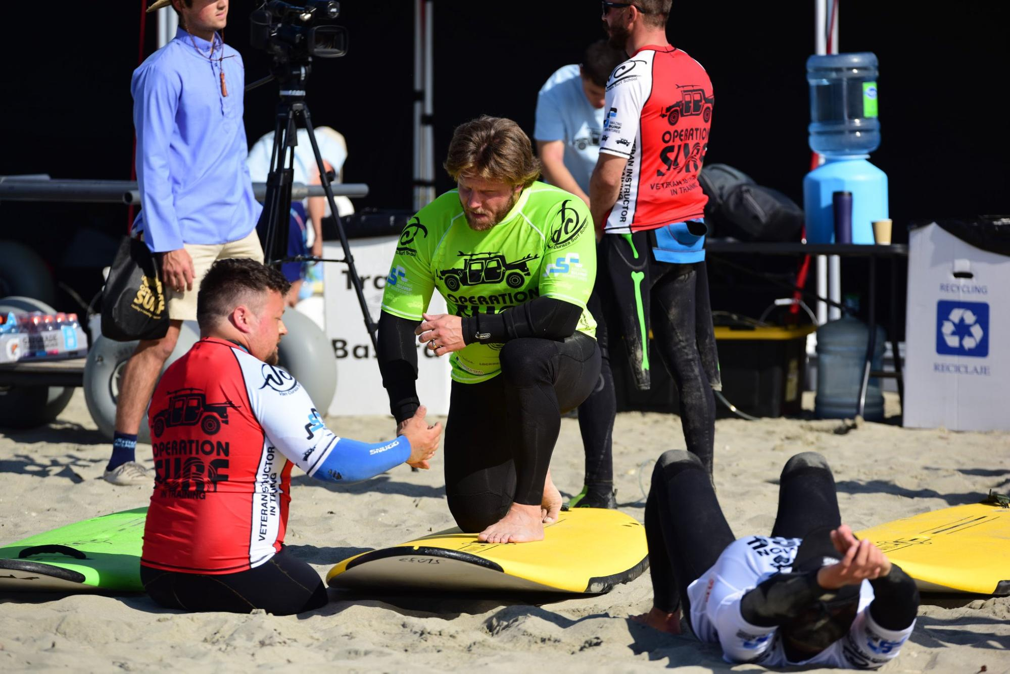 Support for Wounded Veterans through Operation Surf