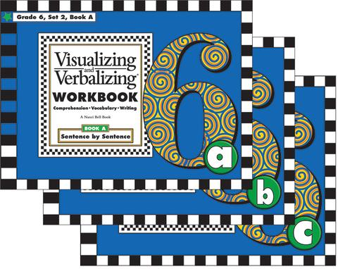 VV Comprehension Workbooks