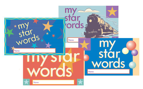 Seeing Stars® Student Star Words Box Set of 4