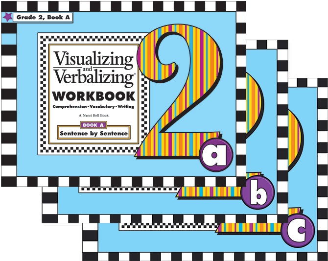 V/V® Comprehension Workbook Sets Grades 2-6 Available
