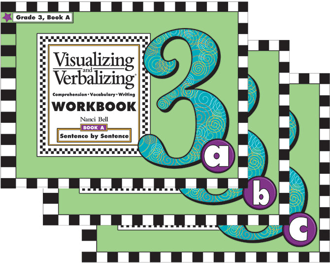 V/V® Comprehension Workbooks - Grade 3