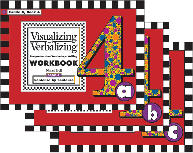 V/V® Comprehension Workbooks - Grade 4