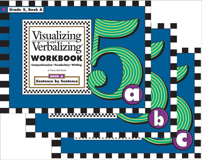 V/V® Comprehension Workbooks - Grade 5