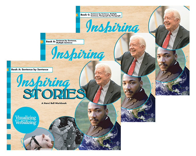 V/V® Comprehension Workbooks - Grade 6: Inspiring Stories