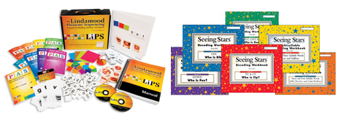 LiPS® Kit PLUS Decoding Workbooks Set of 6