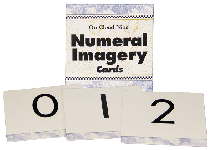 On Cloud Nine® Numeral Imagery Cards