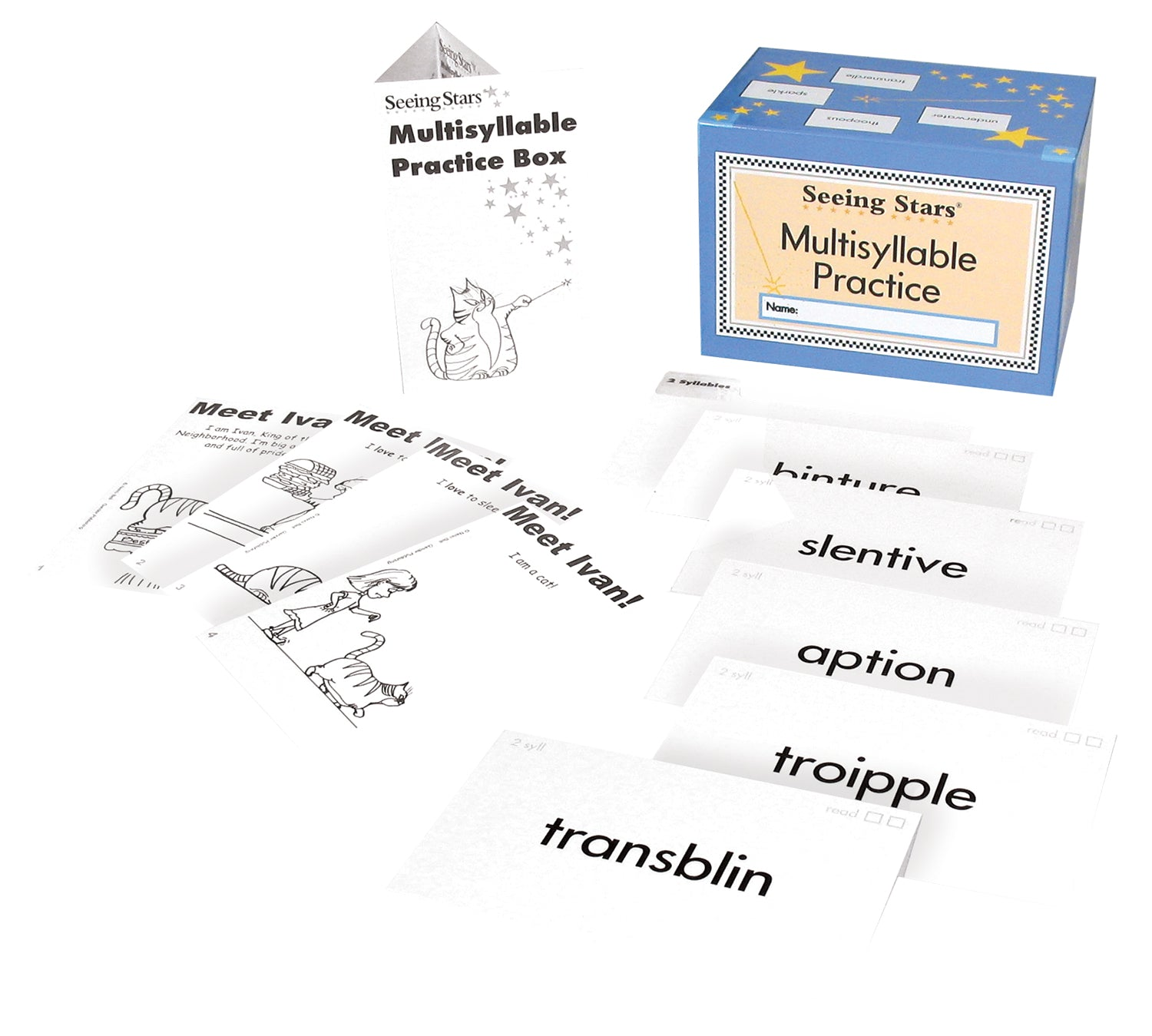 Seeing Stars® Multisyllable Practice Box