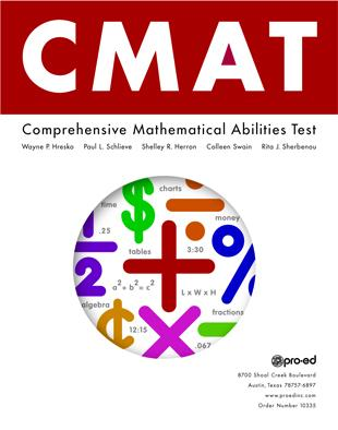 Comprehensive Mathematical Abilities Test (CMAT)