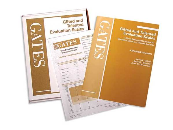 Gifted and Talented Evaluation Scales (GATES)