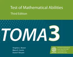 Test of Mathematical Abilities - Third Edition (TOMA-3)