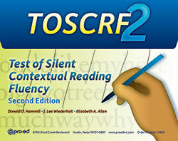 Test of Silent Contextual Reading Fluency - Second Edition (TOSCRF-2)
