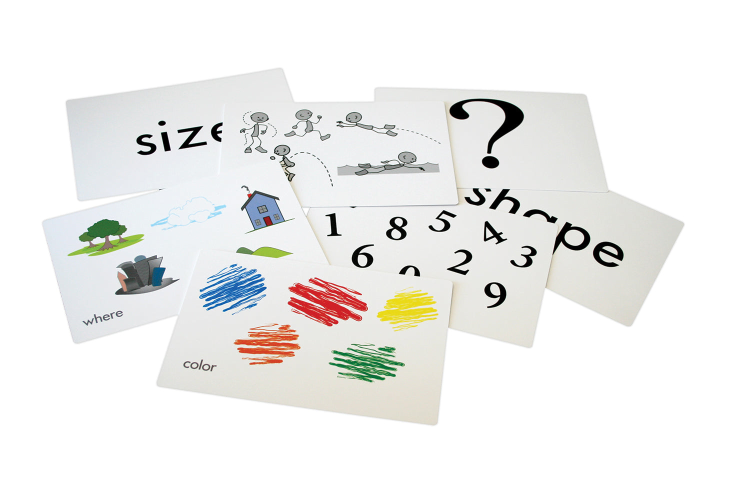 Talkies® Large Picture Structure Words Cards