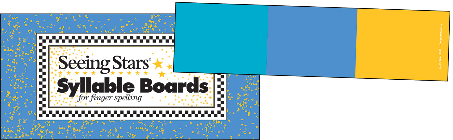 Seeing Stars® Syllable Boards