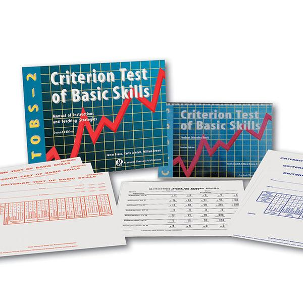Criterion Test of Basic Skills - Second Edition (CTOBS-2)