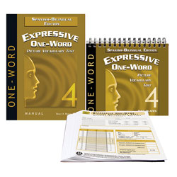 Expressive One-Word Picture Vocabulary Test - Fourth Edition (EOWPVT-4) Spanish-Bilingual