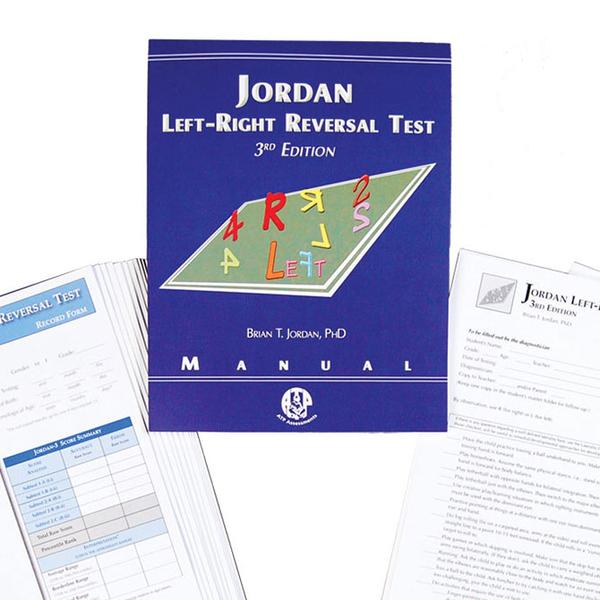 Jordan Left-Right Reversal Test - Third Edition (JLRRT-3)