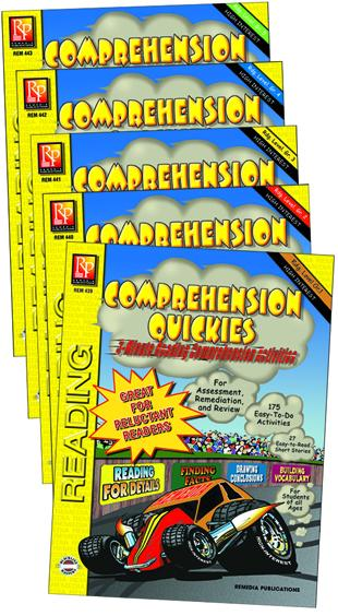 Comprehension Quickies Reading