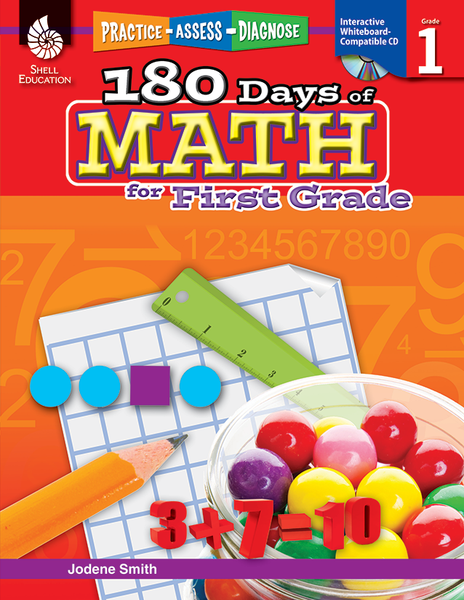 180 Days of Math: Grades K - 6