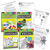 180 Days of Reading, Writing, Language, and Math for Kindergarten 4-Book Set