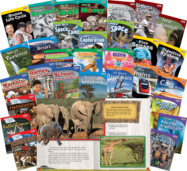 TIME FOR KIDS® Informational Text Grade 3 Readers