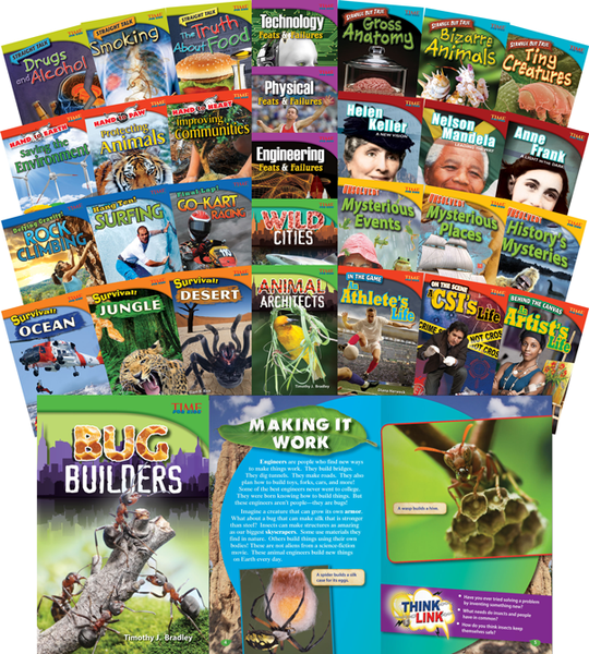 TIME FOR KIDS® Informational Text Grade 4 Readers