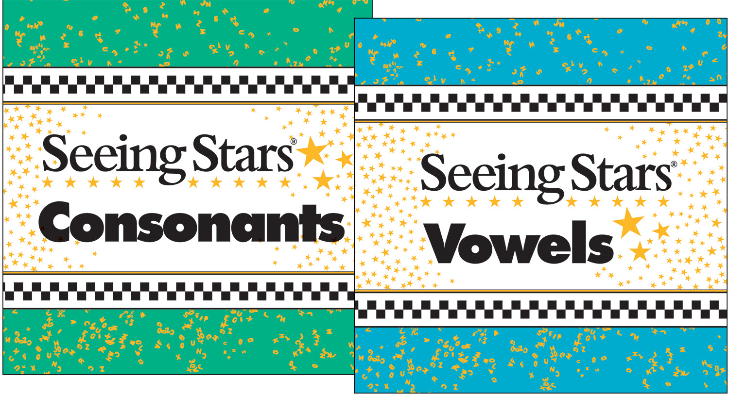 Seeing Stars® Consonant and Vowel Cards