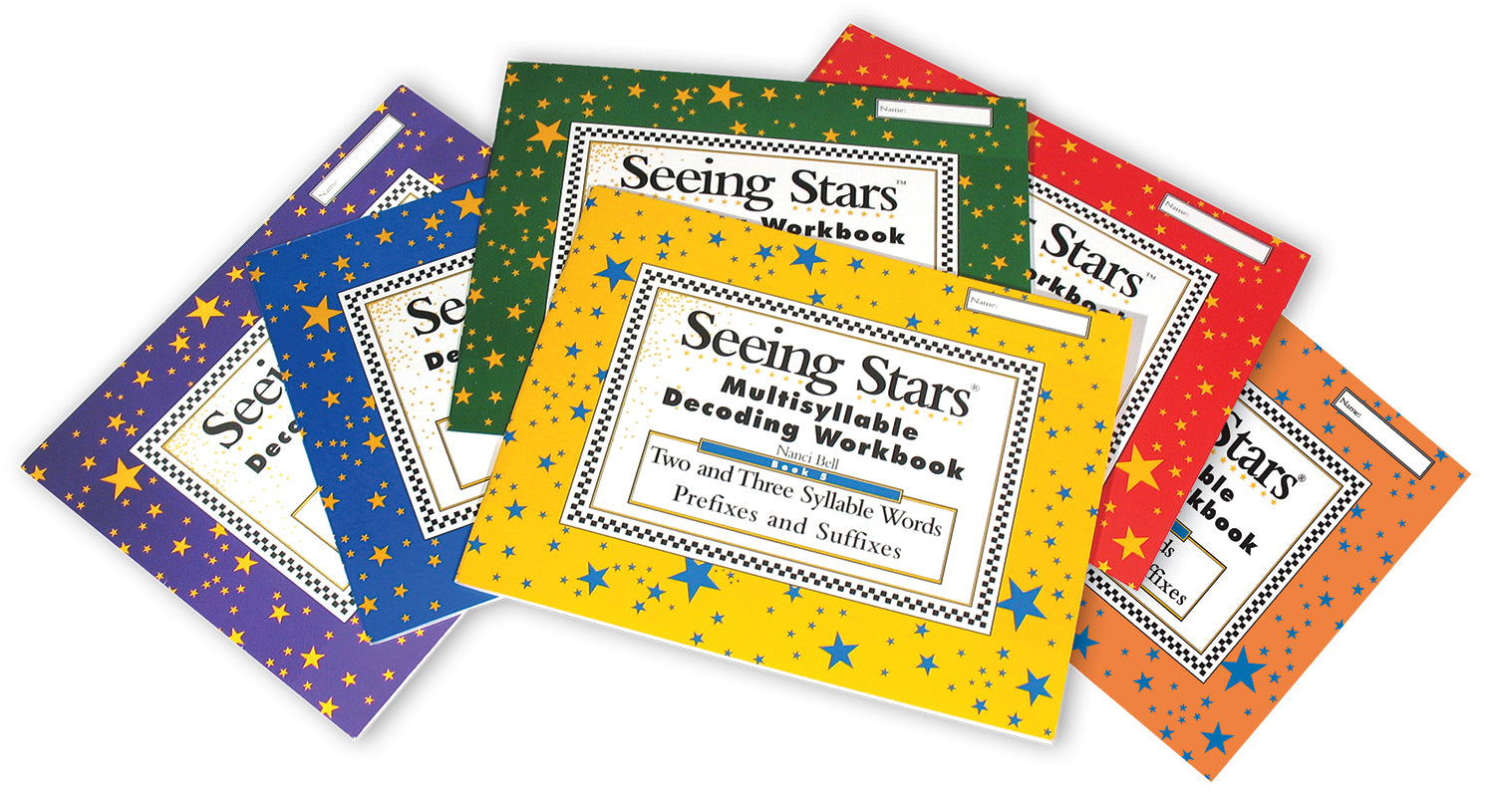 Seeing Stars® Decoding Workbooks