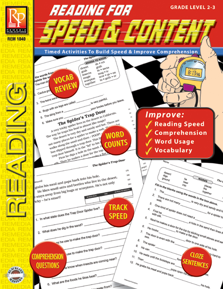 Reading for Speed & Content