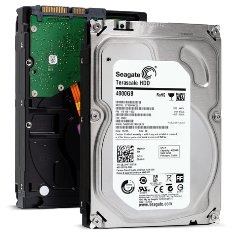 "Dell 08JJHF 4TB 5.9K RPM SATA 6Gb/s 512e 3.5"" HDD"