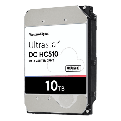 "HGST Ultrastar He10 0F27502 HUH721010ALN600 10TB 7.2K RPM SATA 6Gb/s 4Kn 256MB Cache 3.5"" ISE Power Disable Pin HDD"