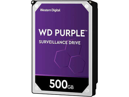 "Western Digital Purple WD05PURX 500GB 5.4K RPM SATA 6Gb/s 64MB 3.5"" Hard Drive"