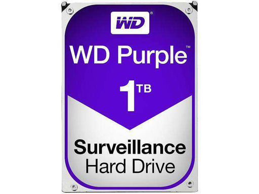 "Western Digital Purple WD10PURX 1TB 5.4K RPM SATA 6Gb/s 64MB 3.5"" Hard Drive"