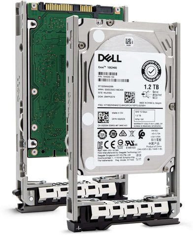 "Dell G13 WXPCX 1.2TB 10K RPM SAS 12Gb/s 512n 2.5"" Hard Drive"