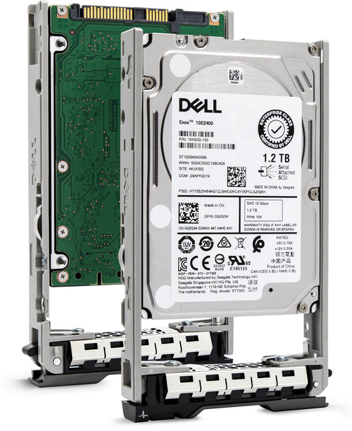 "Dell G13 463-7475 1.2TB 10K RPM SAS 12Gb/s 512n 2.5"" Hard Drive"