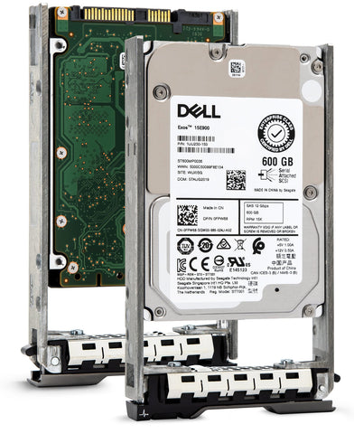 "Dell G13 01W95C 600GB 15K RPM SAS 6Gb/s 512n 2.5"" Hard Drive"
