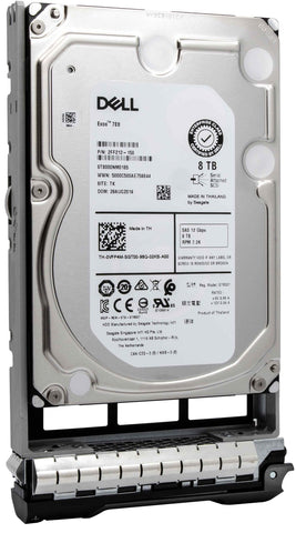 "Dell G13 43V7V 8TB 7.2K RPM SAS 12Gb/s 512e 3.5"" NearLine Hard Drive"