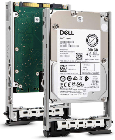 "Dell G13 400-APGK 900GB 15K RPM SAS 12Gb/s 512n 2.5"" Hard Drive"