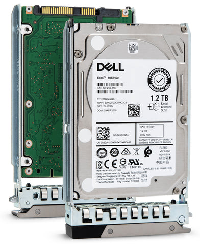 "Dell G14 400-ATJL 1.2TB 10K RPM SAS 12Gb/s 512n 2.5"" Hard Drive"